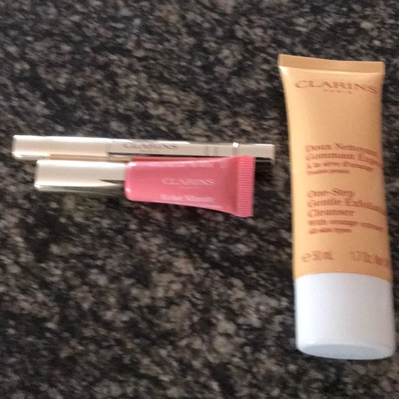 Clarins Other - Clarins 3 piece travel size set NEW